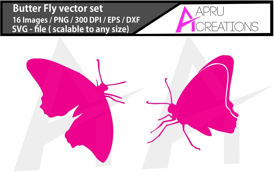 Download Free Butterfly Silhouette Graphic By Aparnastjp Creative Fabrica for Cricut Explore, Silhouette and other cutting machines.