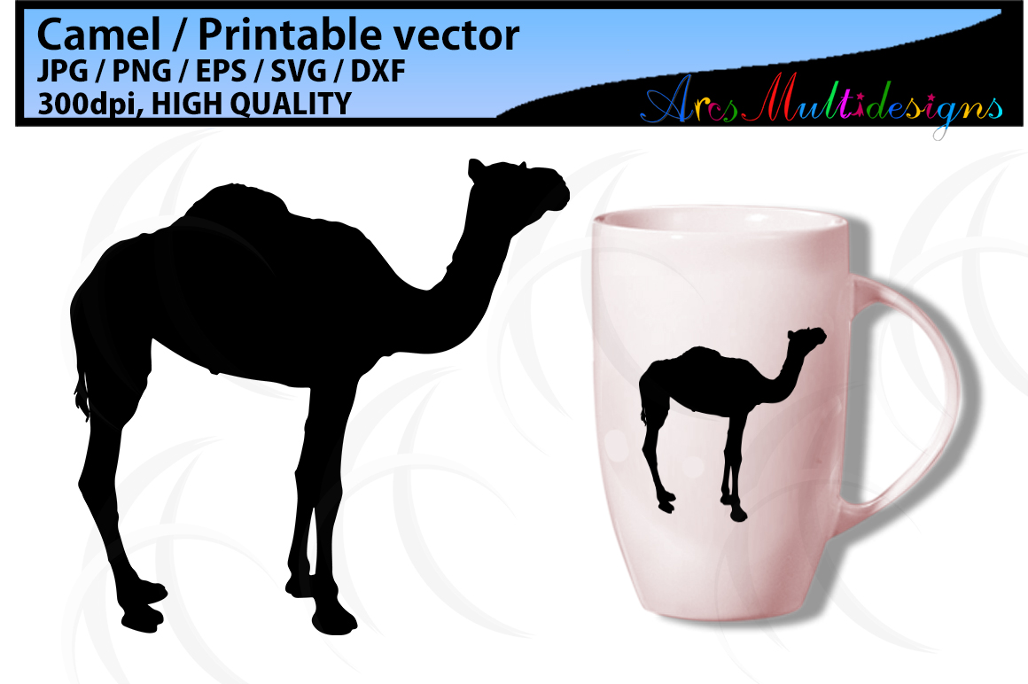 Print on Demand: Camel Graphic Illustrations By Arcs Multidesigns