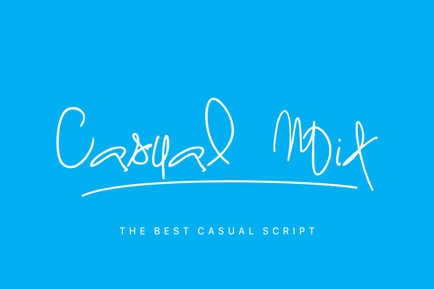 Casual Mix Font By Marcelo Inez
