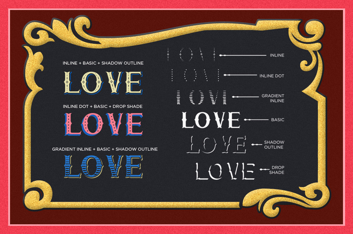 Print on Demand: Chester Display Font By storictype - Image 3