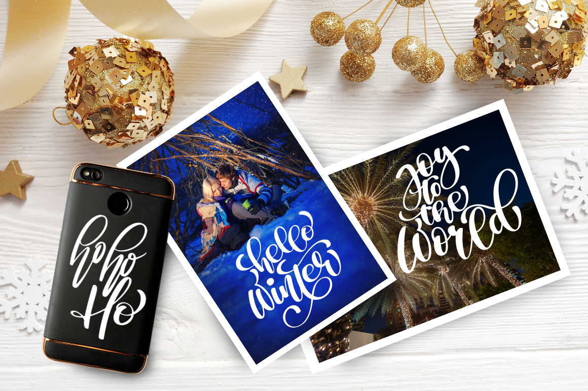 Christmas Bundle Graphic Objects By Happy Letters - Image 11