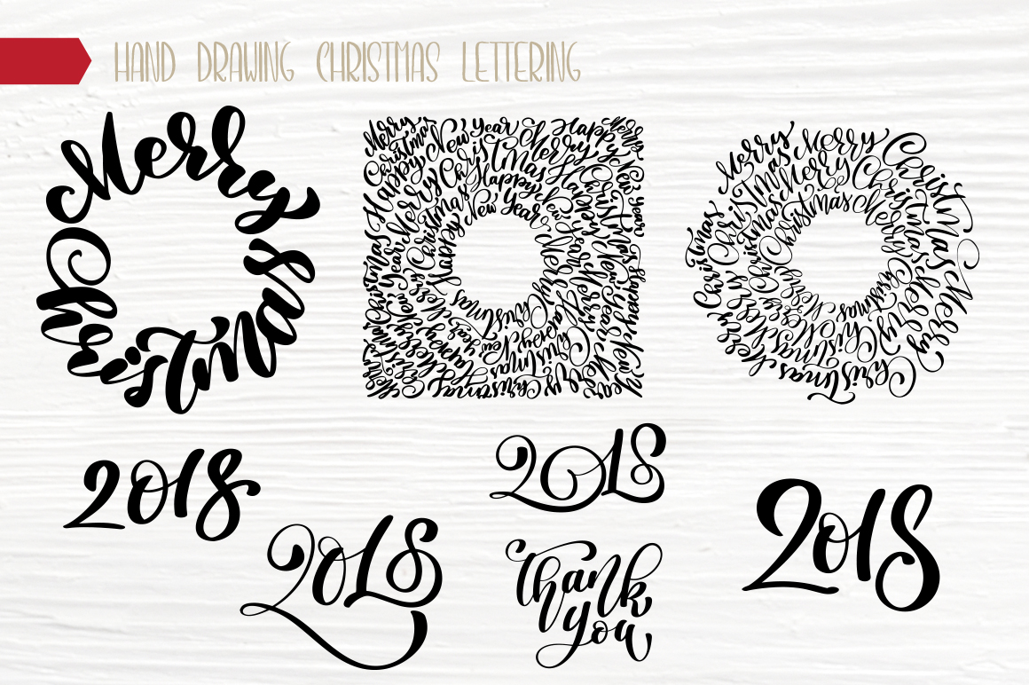 Christmas Bundle Graphic Objects By Happy Letters - Image 12