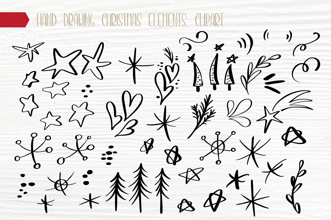 Christmas Bundle Graphic Objects By Happy Letters - Image 14