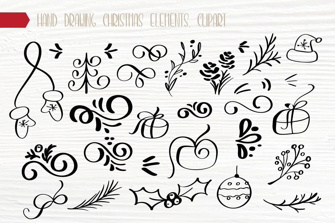 Christmas Bundle Graphic Objects By Happy Letters - Image 15