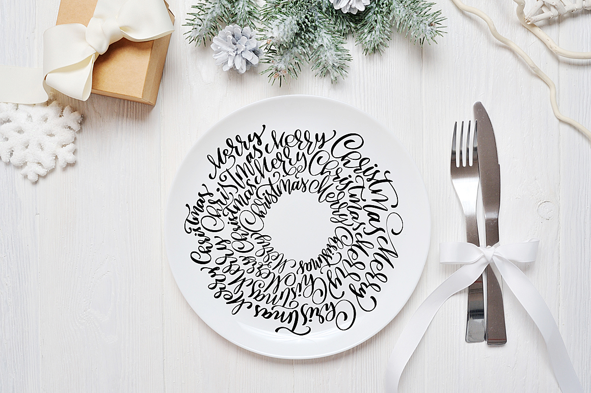 Christmas Bundle Graphic Objects By Happy Letters - Image 17