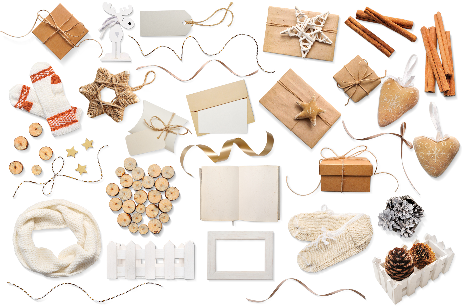 Christmas Bundle Graphic Objects By Happy Letters - Image 20