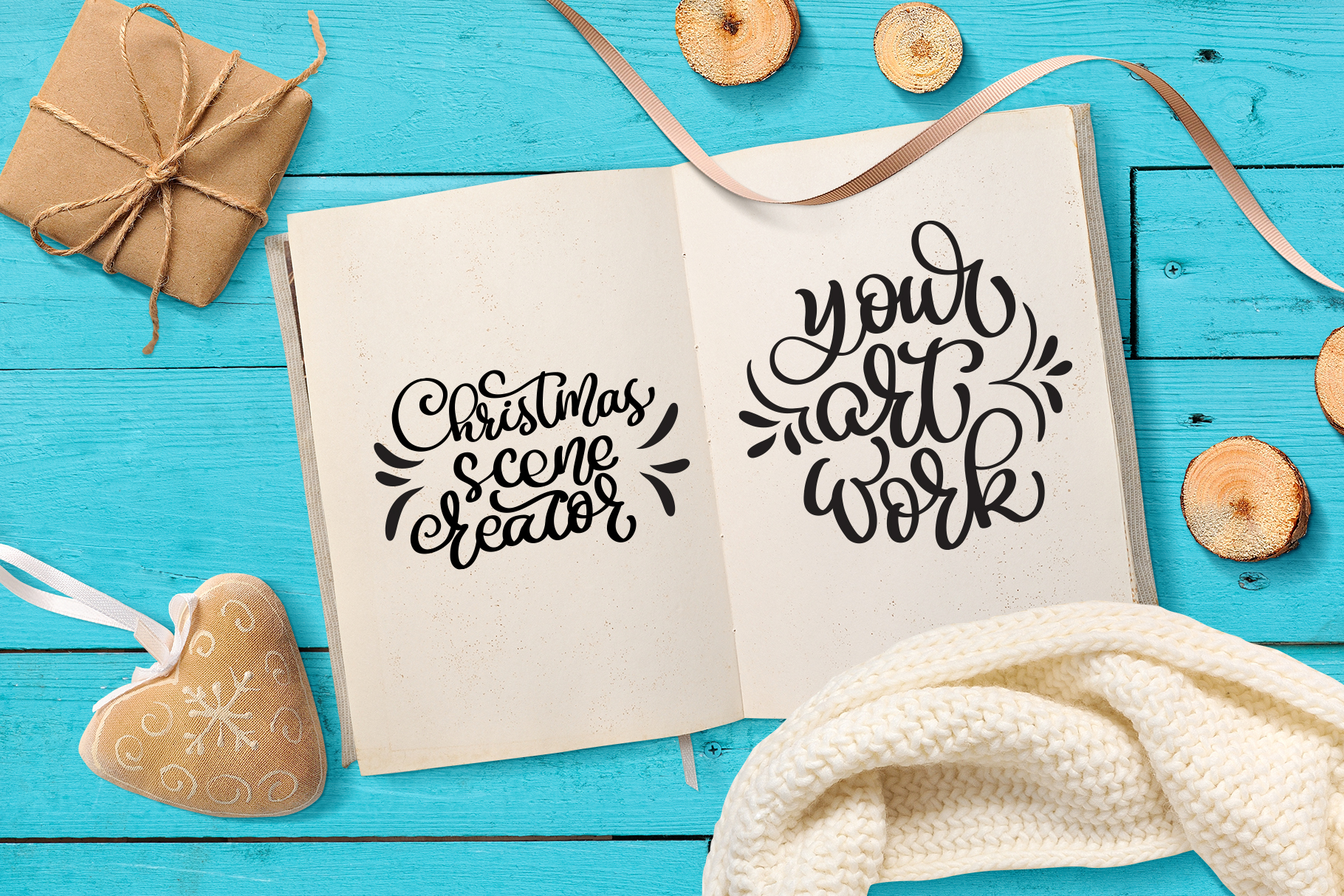 Christmas Bundle Graphic Objects By Happy Letters - Image 23