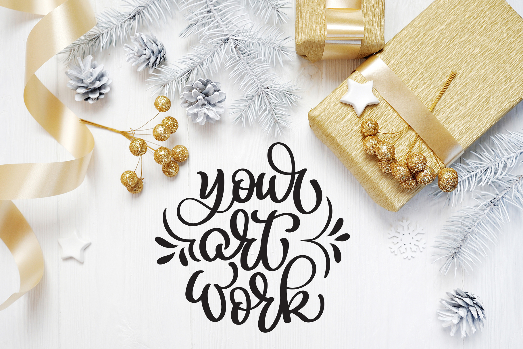 Christmas Bundle Graphic Objects By Happy Letters - Image 30