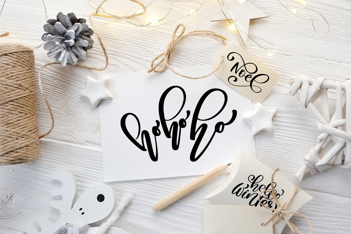 Christmas Bundle Graphic Objects By Happy Letters - Image 4