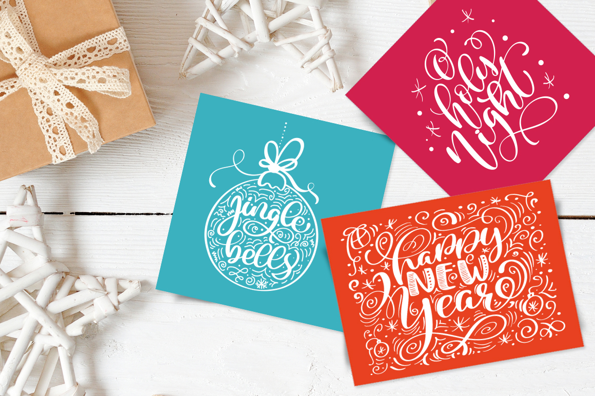 Christmas Bundle Graphic Objects By Happy Letters - Image 33