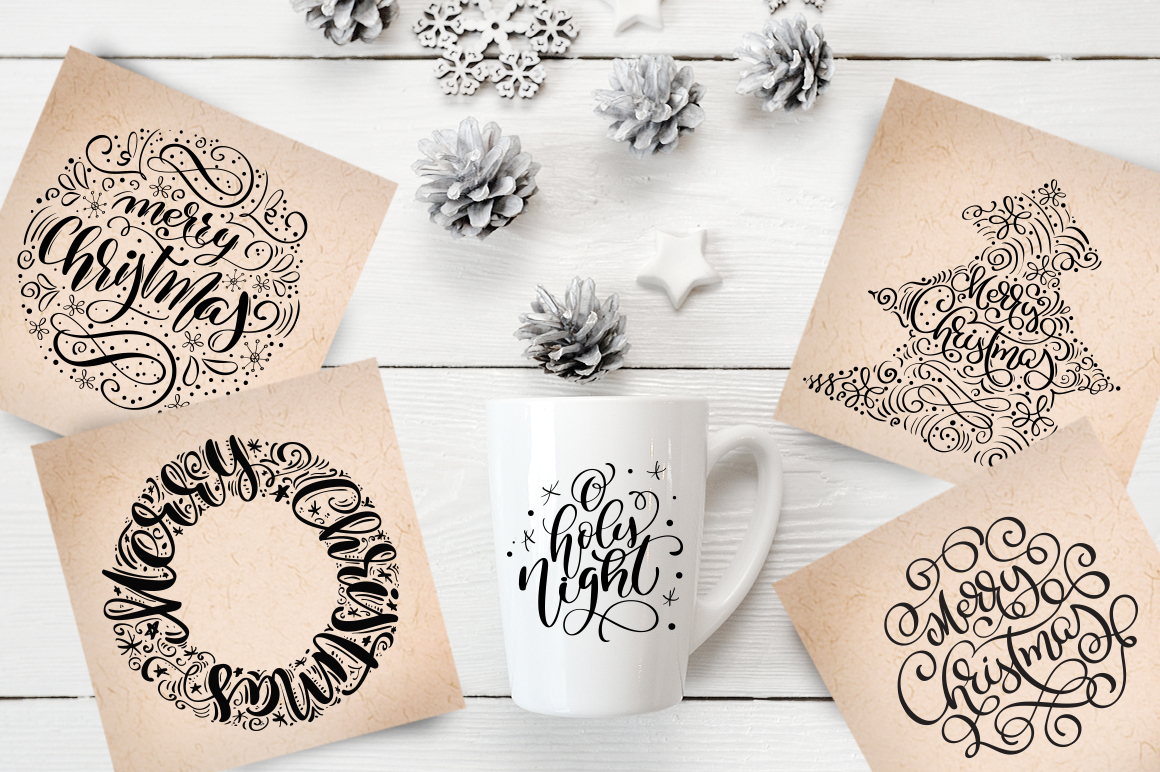 Christmas Bundle Graphic Objects By Happy Letters - Image 35