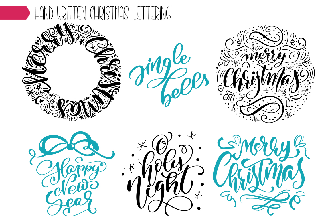 Christmas Bundle Graphic Objects By Happy Letters - Image 37