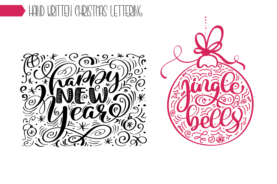 Christmas Bundle Graphic Objects By Happy Letters - Image 39