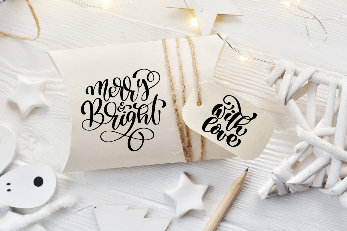 Christmas Bundle Graphic Objects By Happy Letters - Image 5