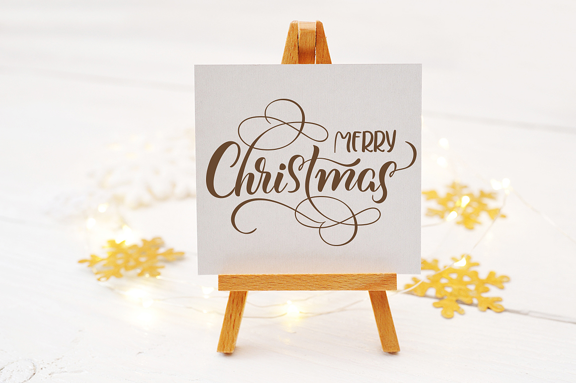 Christmas Mock Up Photos Collection 2 Graphic Product Mockups By Happy Letters - Image 3