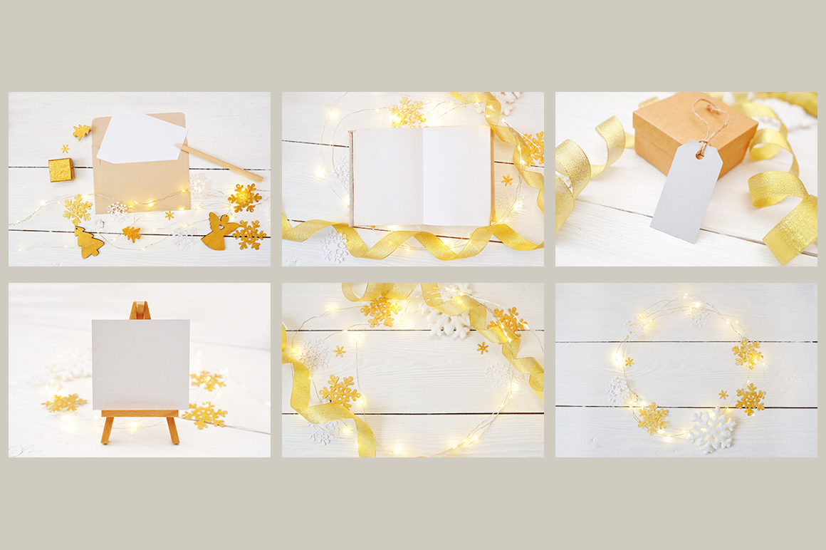 Christmas Mock Up Photos Collection 2 Graphic Product Mockups By Happy Letters - Image 6
