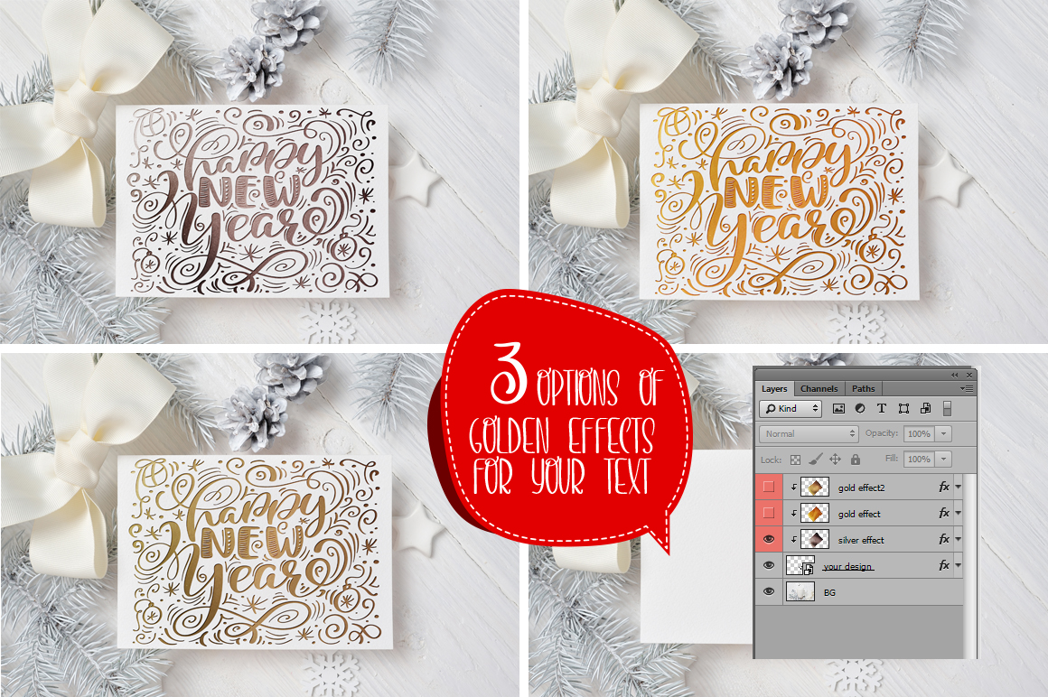 Christmas Mug and Letter Mockups Graphic Product Mockups By Happy Letters - Image 4