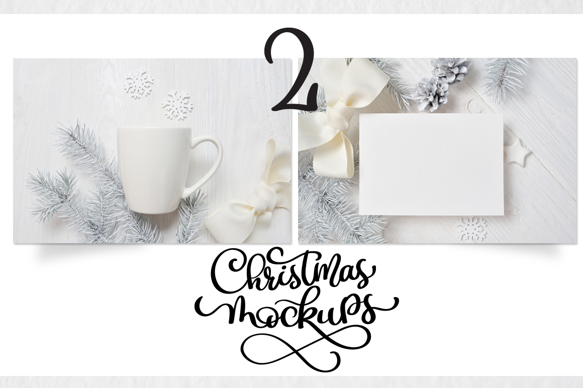 Christmas Mug and Letter Mockups Graphic Product Mockups By Happy Letters - Image 7