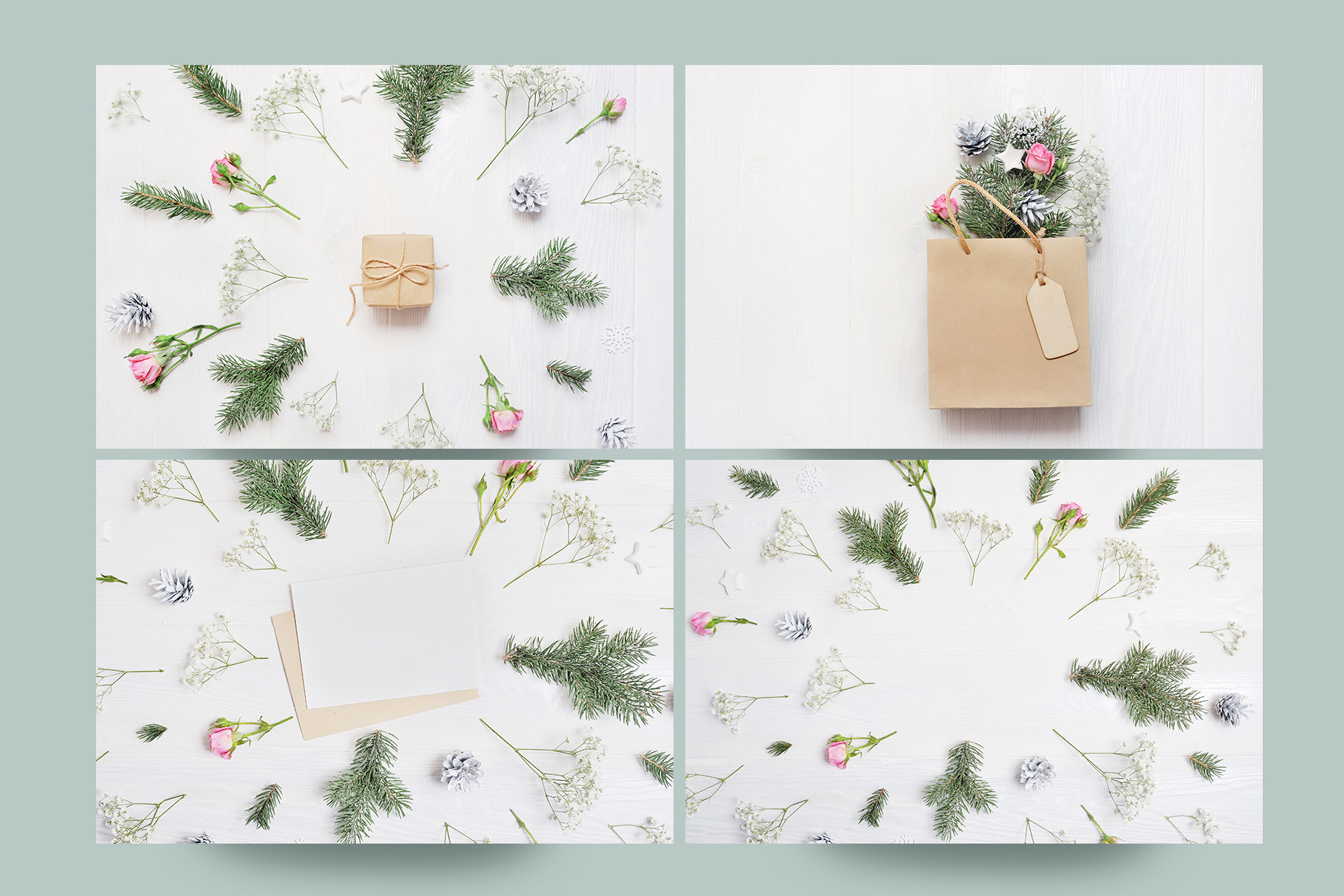 Christmas Photo Pack Graphic By Happy Letters Image 6