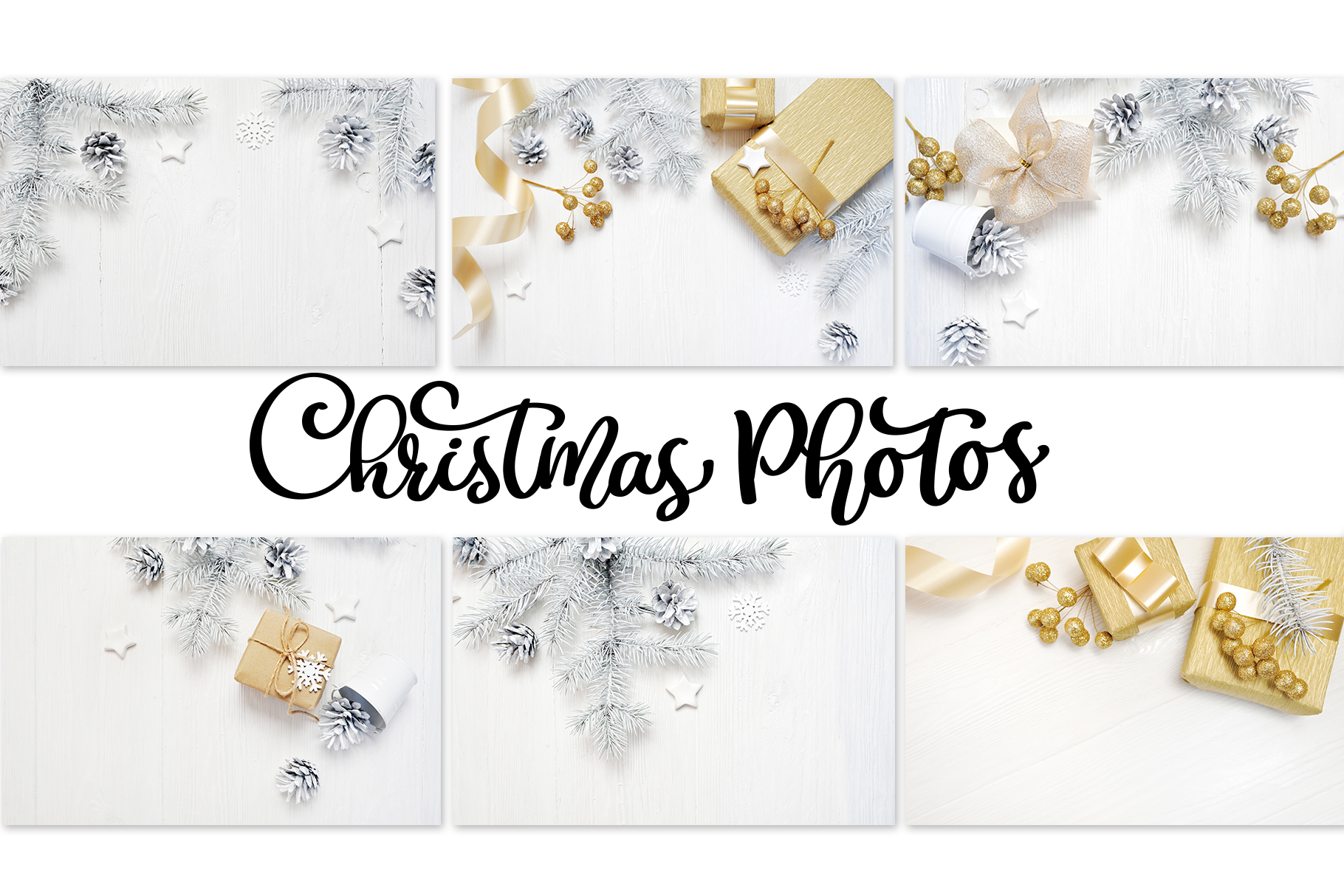 Christmas Photos Set Graphic Holidays By Happy Letters - Image 2