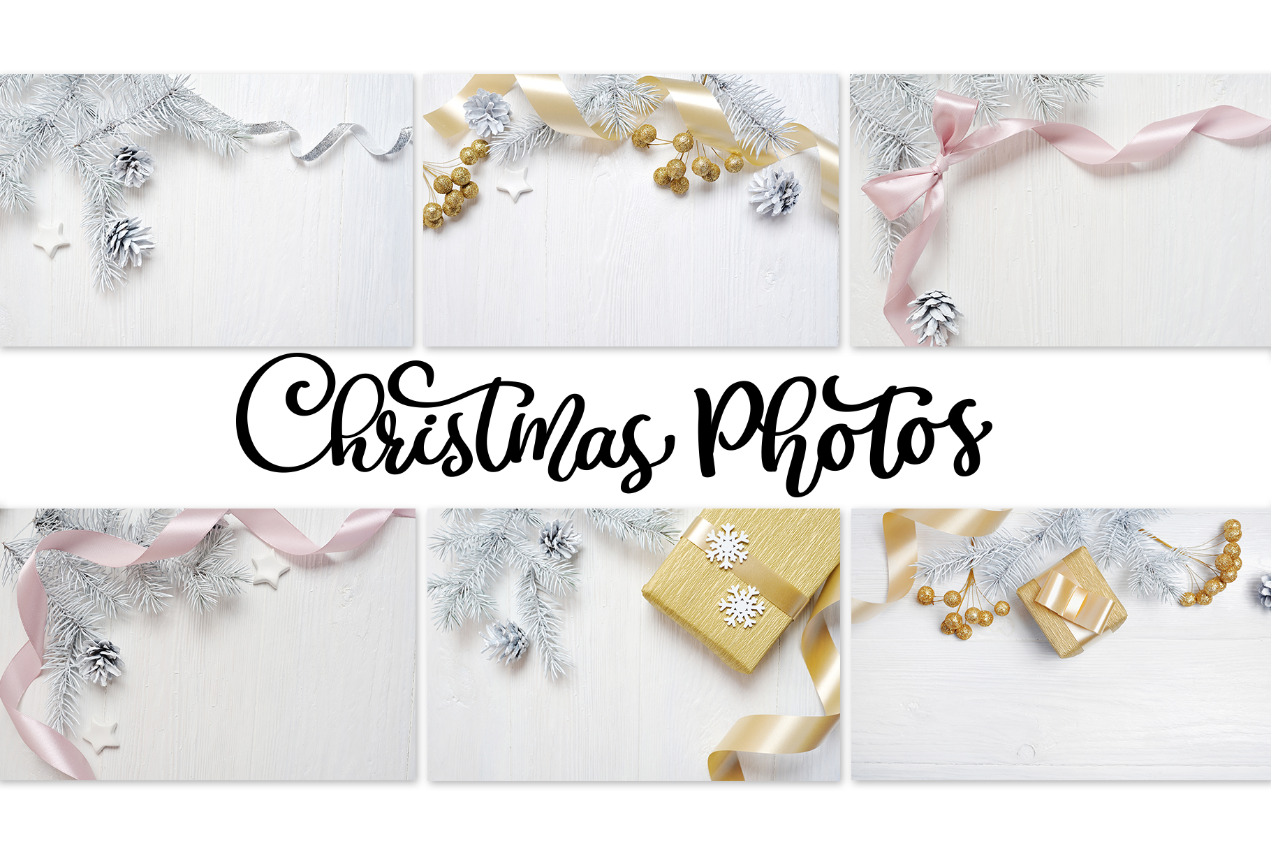 Christmas Photos Set Graphic Holidays By Happy Letters - Image 3