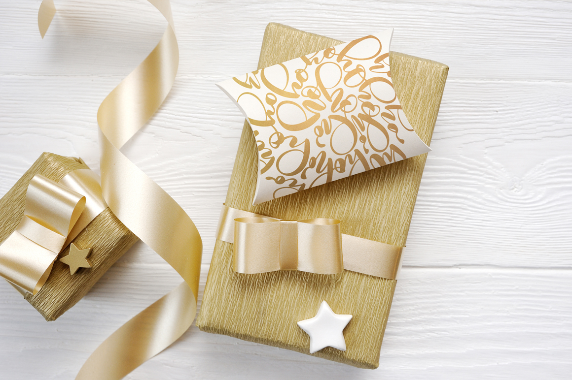 Christmas Background Mock Ups with Smart Object Graphic Product Mockups By Happy Letters - Image 2