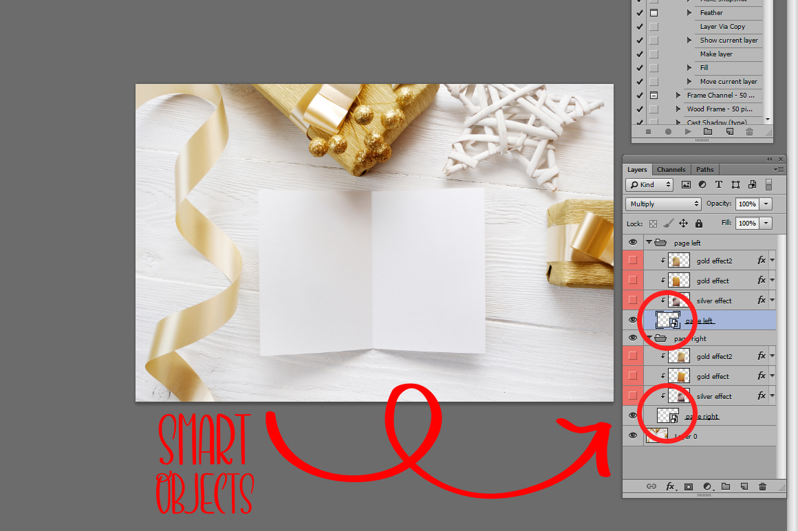 Christmas Background Mock Ups with Smart Object Graphic Product Mockups By Happy Letters - Image 11