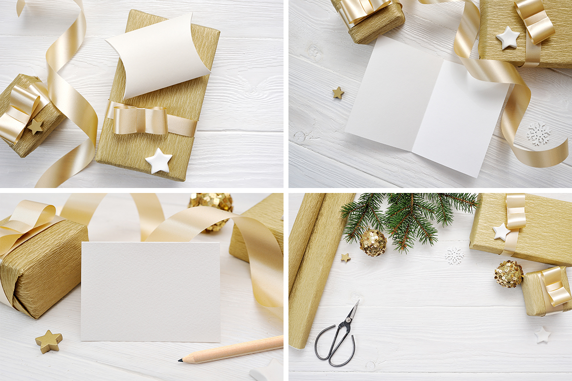 Christmas Background Mock Ups with Smart Object Graphic Product Mockups By Happy Letters - Image 5