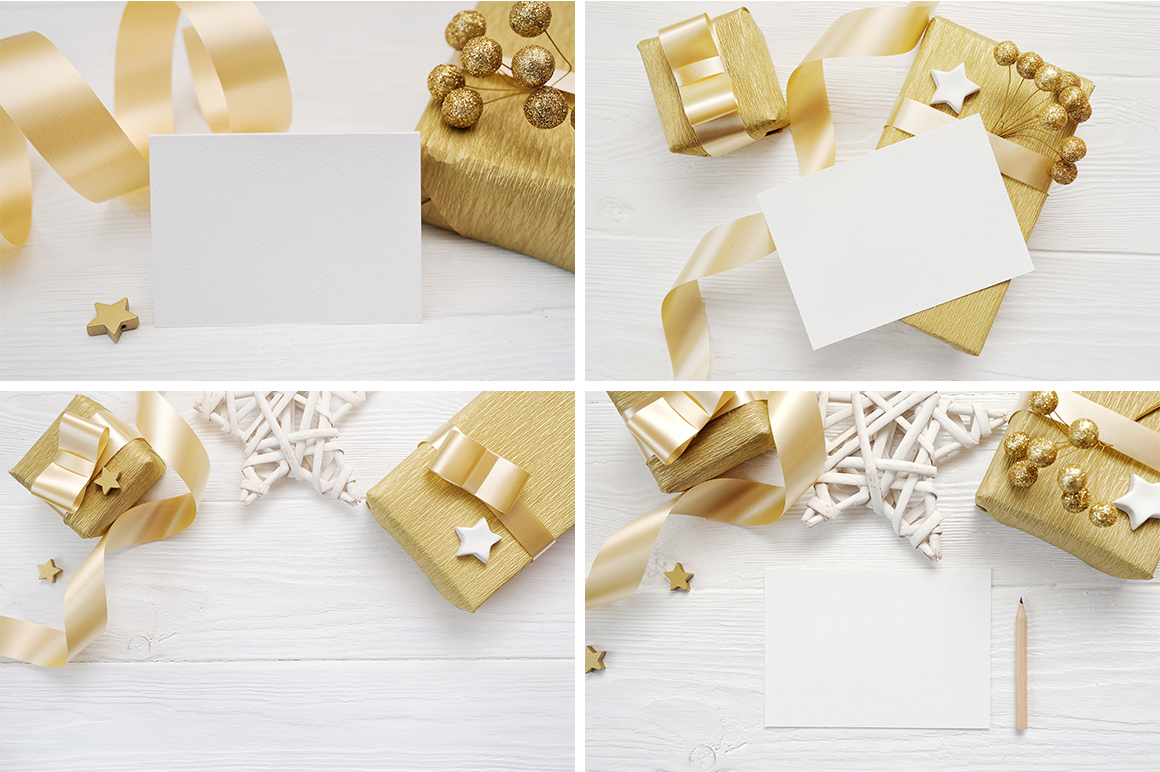 Christmas Background Mock Ups with Smart Object Graphic Product Mockups By Happy Letters - Image 6