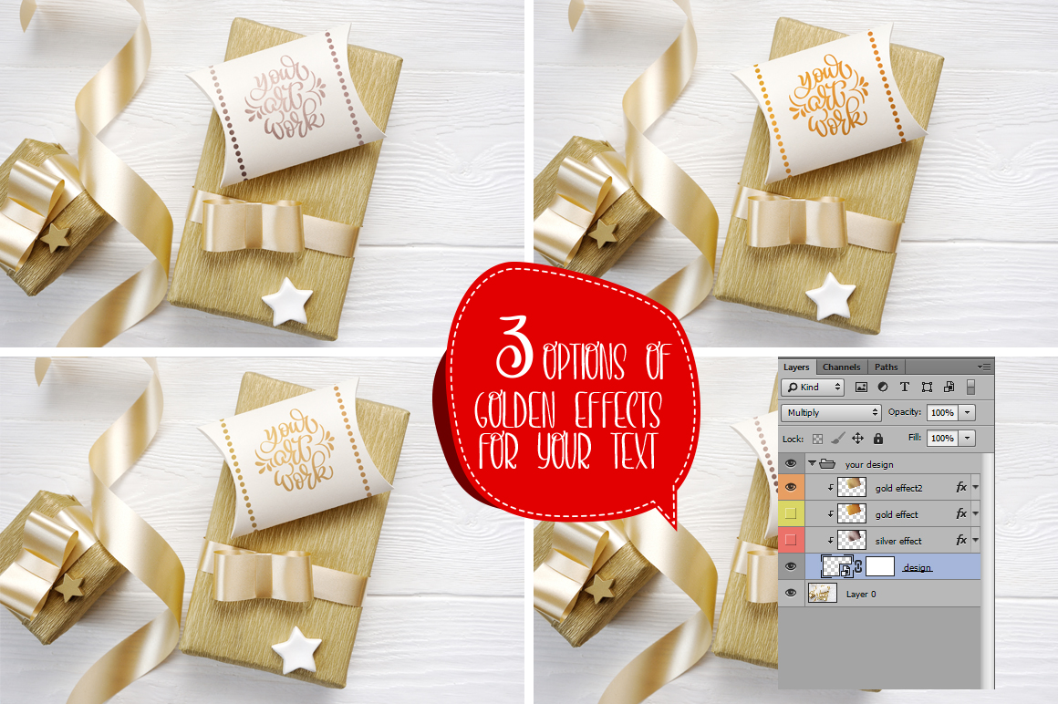 Christmas Background Mock Ups with Smart Object Graphic Product Mockups By Happy Letters - Image 9