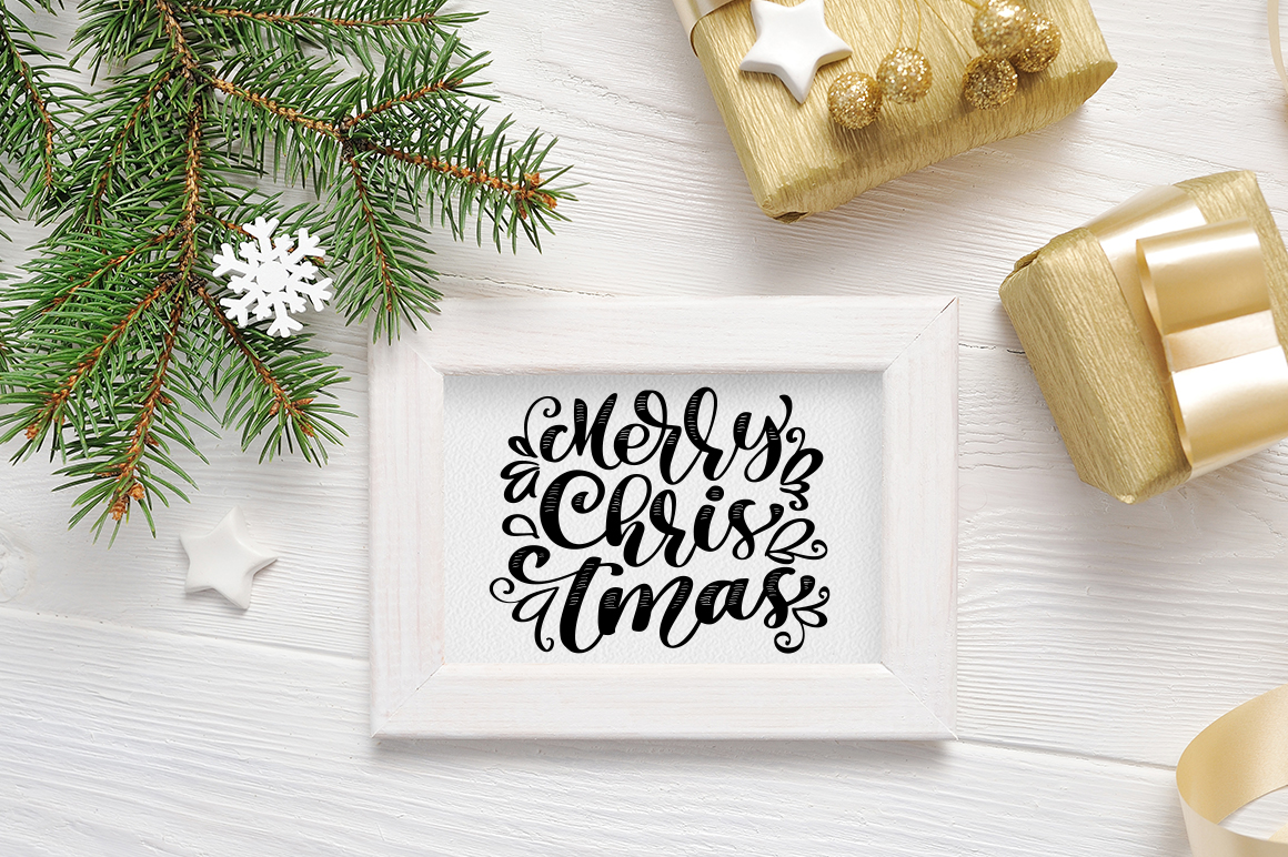Christmas Background Mock Ups with Smart Object Graphic Product Mockups By Happy Letters - Image 10