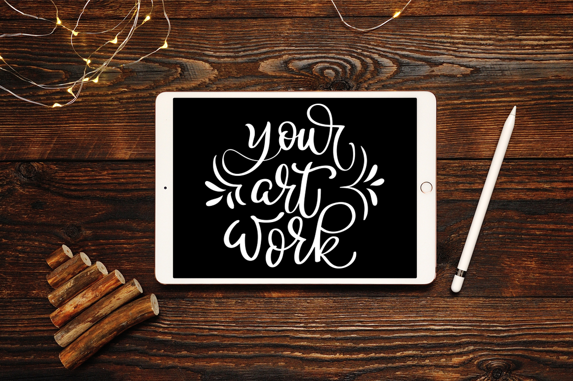 Christmas IPad Mockup Graphic Product Mockups By Happy Letters - Image 2
