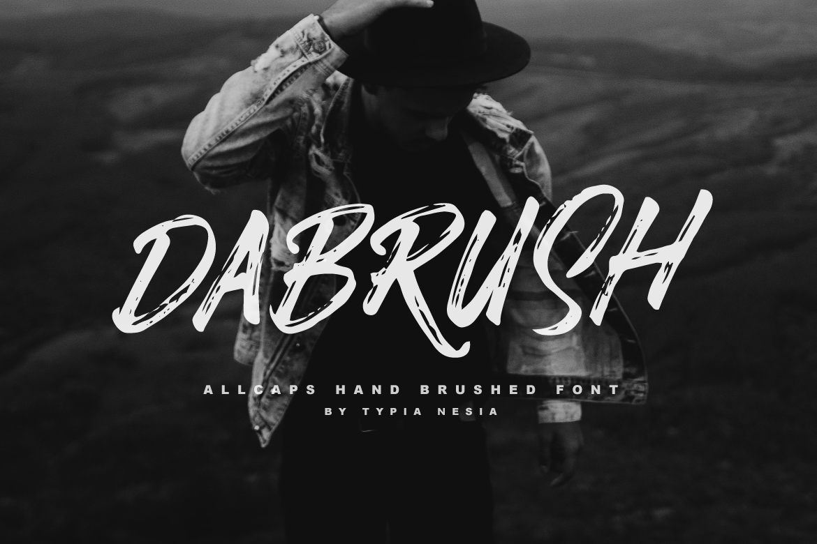 Print on Demand: Dabrush Script & Handwritten Font By Typia Nesia