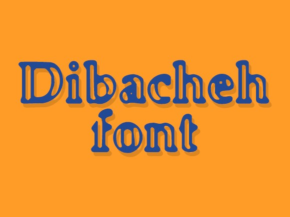 Print on Demand: Dibacheh Decorative Font By shahab.siavash
