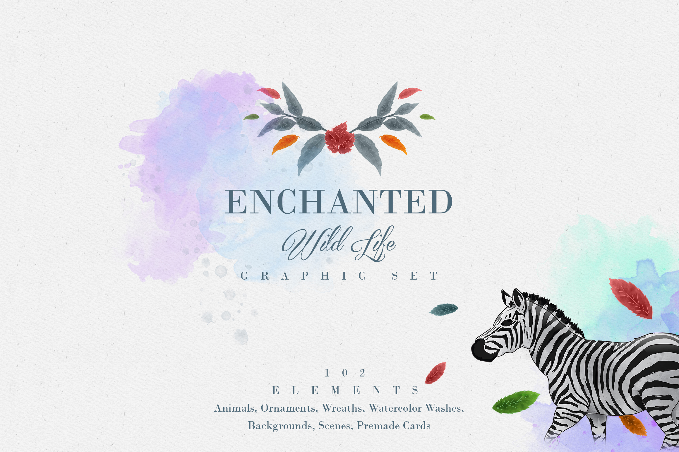 Enchanted Wild Life Graphic By vladfedotovv