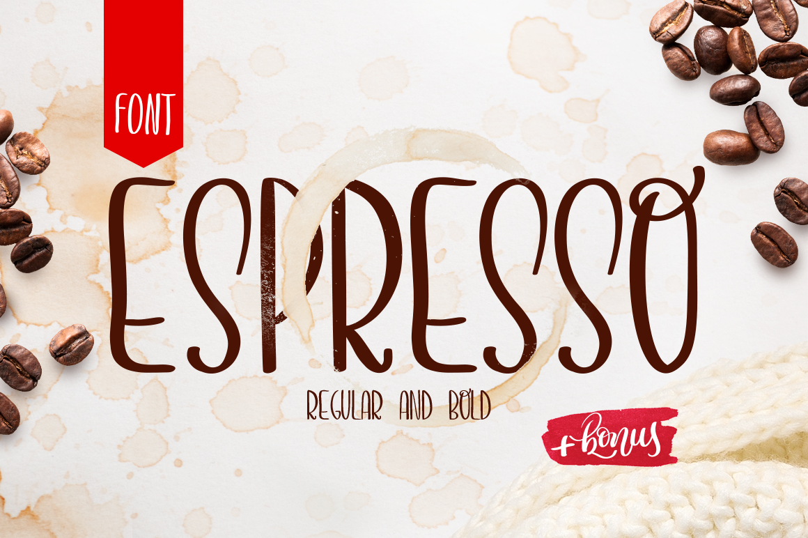 Print on Demand: Espresso Script & Handwritten Font By Happy Letters