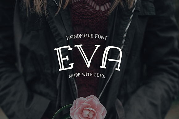Print on Demand: Eva Font By Creative Fabrica Freebies - Image 1