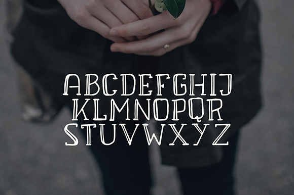Print on Demand: Eva Font By Creative Fabrica Freebies - Image 2
