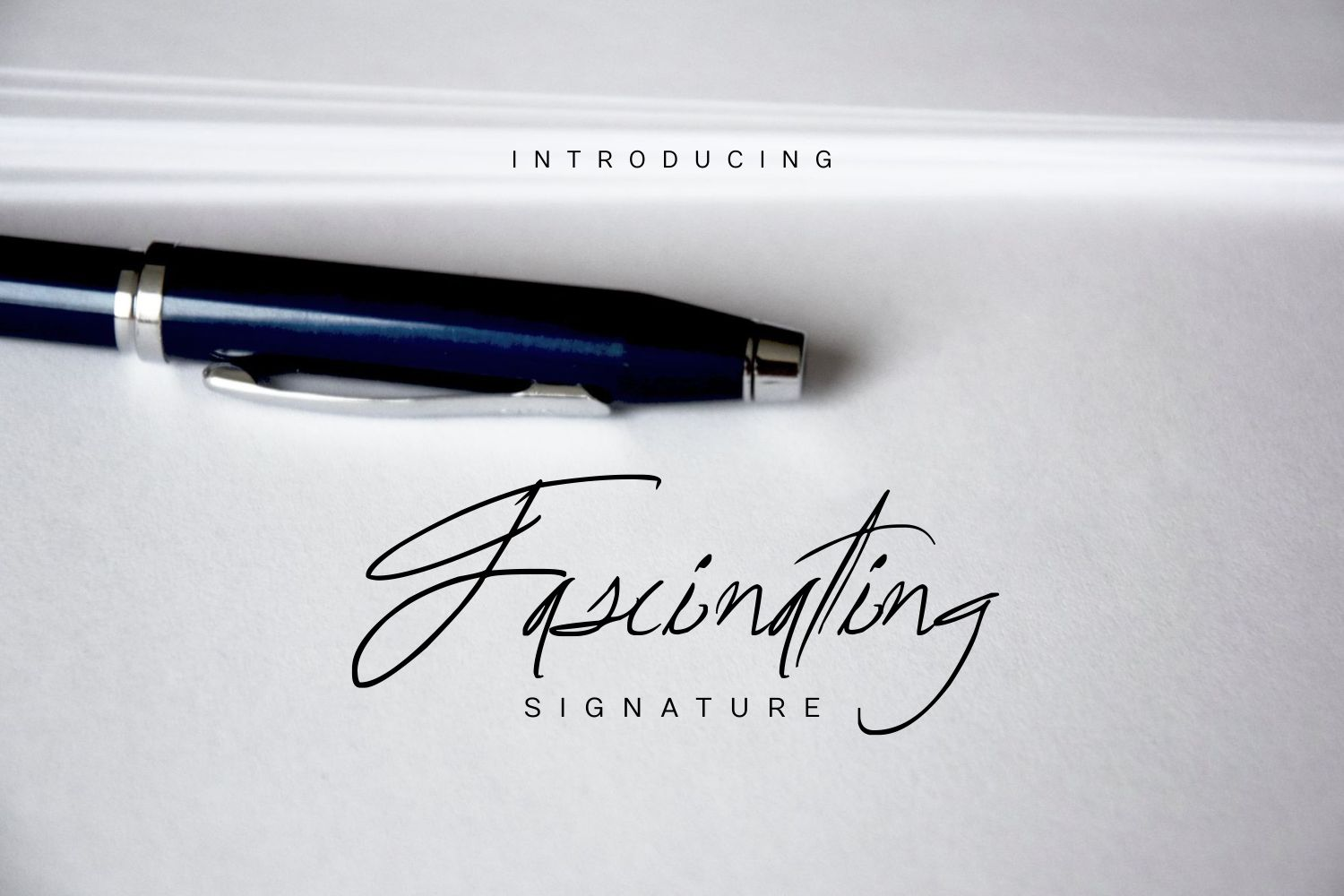 Fascinating Signature Font By Marcelo Inez