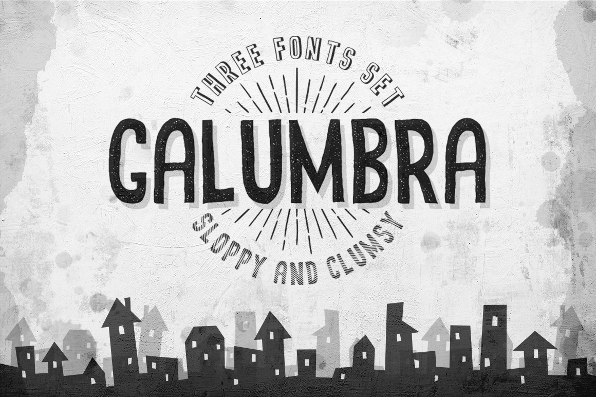 Galumbra Font By Agor2012