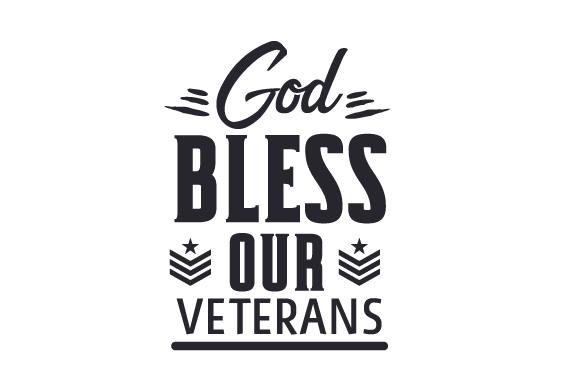 God Bless Our Veterans Craft Design By Creative Fabrica Crafts