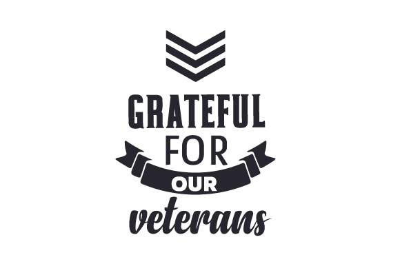 Grateful for Our Veterans Military Craft Cut File By Creative Fabrica Crafts - Image 1