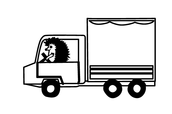 Download Free Hedgehog Driving Truck Svg Cut File By Creative Fabrica Crafts for Cricut Explore, Silhouette and other cutting machines.