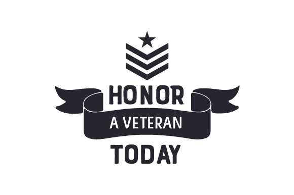 Download Free Honor A Veteran Today Svg Cut File By Creative Fabrica Crafts for Cricut Explore, Silhouette and other cutting machines.