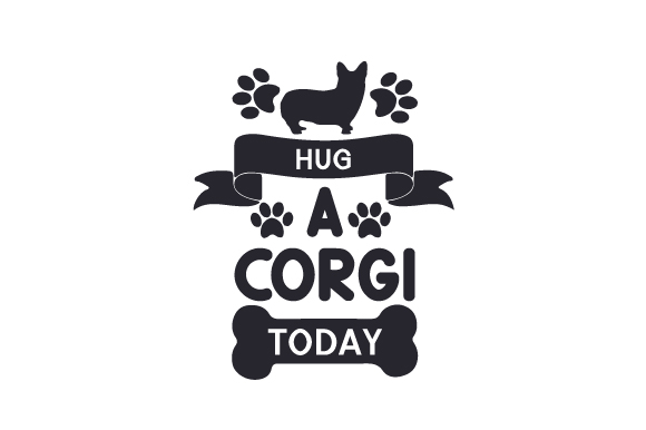 Download Free Hug A Corgi Today Svg Cut File By Creative Fabrica Crafts for Cricut Explore, Silhouette and other cutting machines.