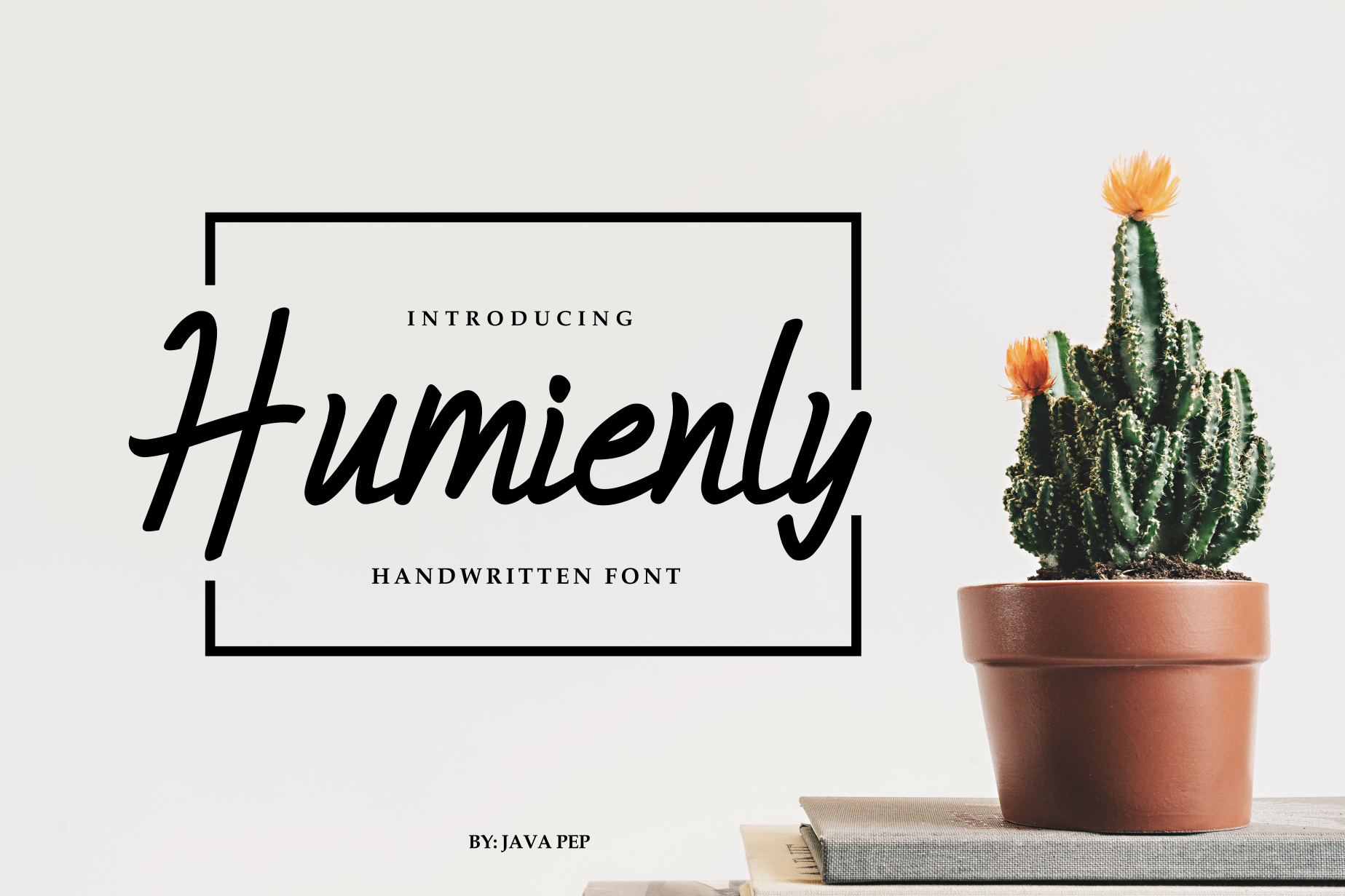 Humienly Font By JavaPep