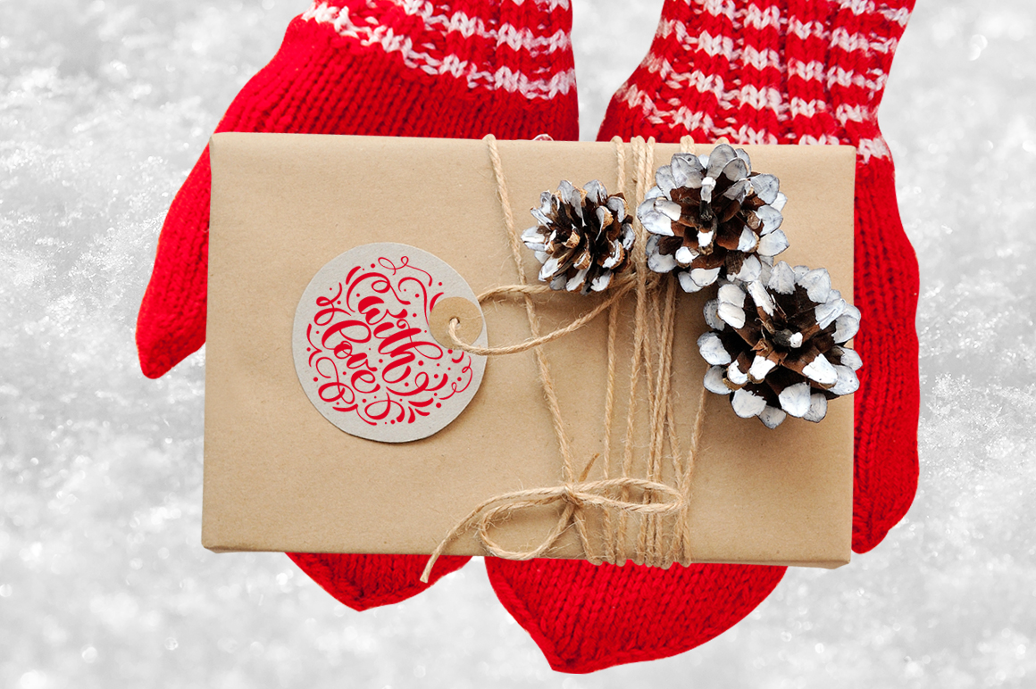 Isolated Gift Christmas Mockups Graphic Product Mockups By Happy Letters - Image 3