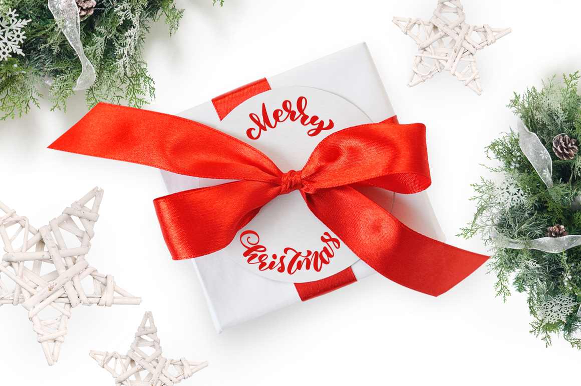 Isolated Gift Christmas Mockups Graphic Product Mockups By Happy Letters - Image 4