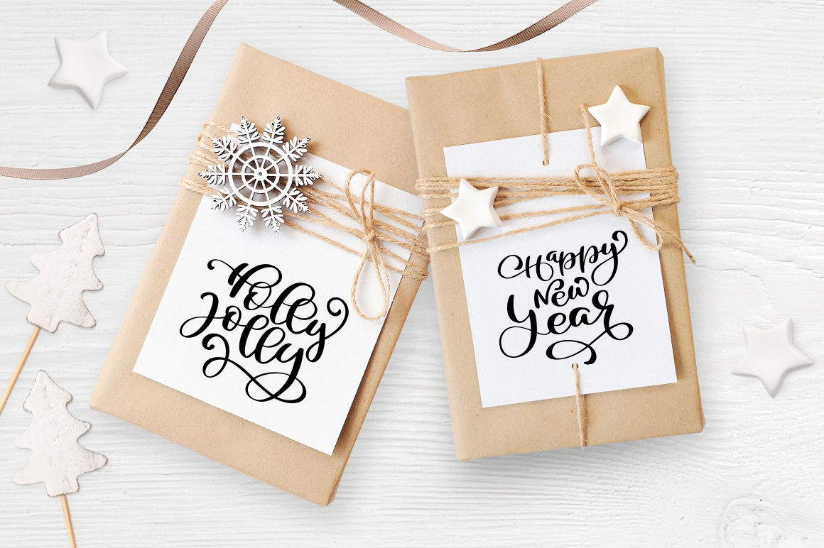 Isolated Gift Christmas Mockups Graphic Product Mockups By Happy Letters - Image 5