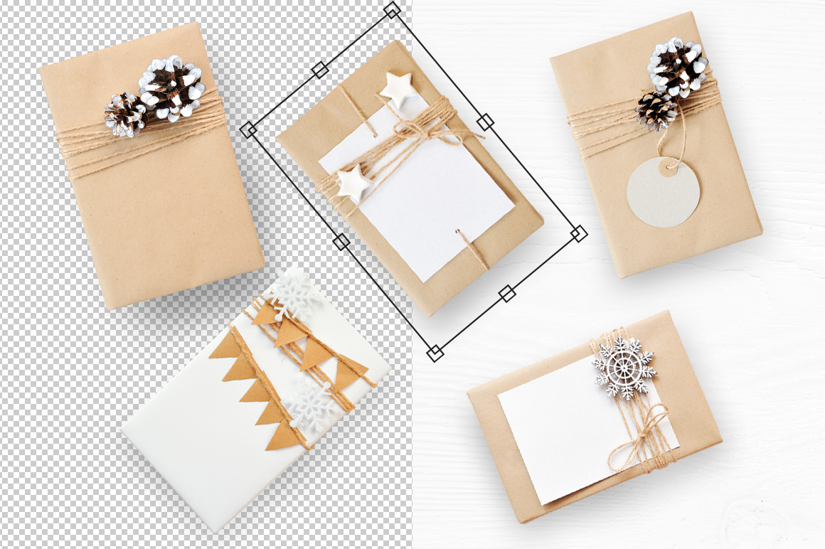 Isolated Gift Christmas Mockups Graphic Product Mockups By Happy Letters - Image 7